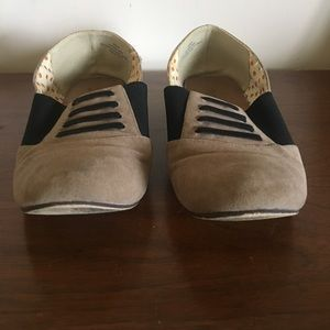 Restricted Shoes - Restricted Tan/Black Loafers